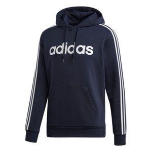 Men's Adidas Navy and White Hoodie Sweatshirt. S.